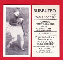 Charlton Athletic Sam Bartram England